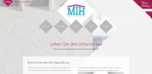 Firmenprofil von: Kreative Wandgestaltung vom Profi: Malerbetrieb Ingolf Heinecke in Neuenhagen