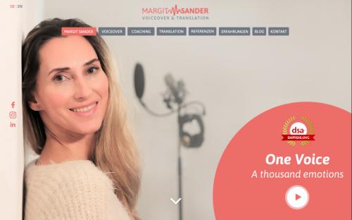 Firmenprofil von: Imagepolitur: Imagefilm mit der Stimme von Margit Sander