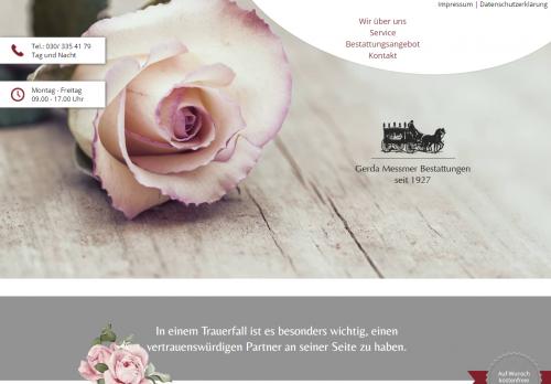 Firmenprofil von: Bestattungsvorsorge von Beerdigungsprofis in Berlin