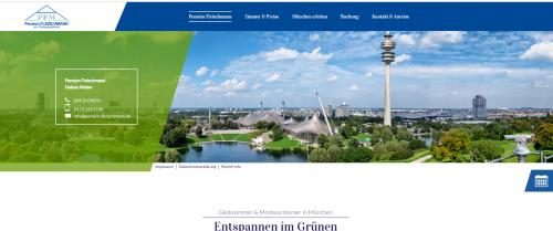 Firmenprofil von: Ihr Sommerurlaub in München: Pension Fleischmann
