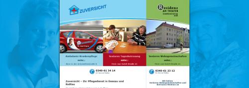 Firmenprofil von: Der verlässliche Pflegedienst Zuversicht aus Dessau-Roßlau