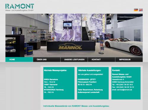 Firmenprofil von: Ramont Messe- und Ausstellungsbau GmbH in Schenefeld bei Hamburg