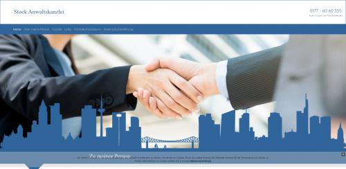 Firmenprofil von: Ihr Fachanwalt für Jugendstrafrecht: Anwaltskanzlei Stock in Frankfurt