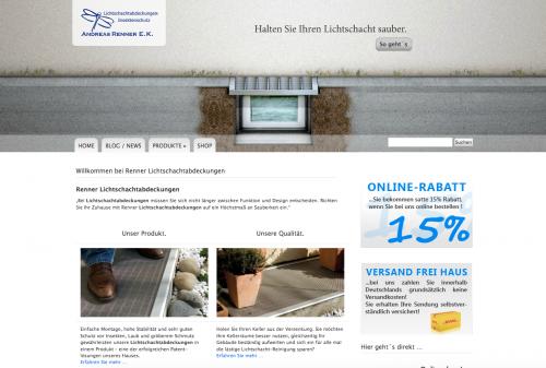 Firmenprofil von: Trockener Keller mit der Lichtschachtabdeckung von Lsa-Renner