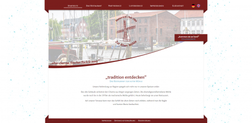 Firmenprofil von: Traditionsreiches Restaurant in Glückstadt: Restaurant Zur alten Mühle