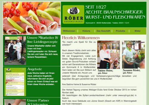 Firmenprofil von: Röber Gourmetmarkt