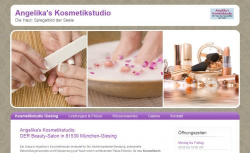 Firmenprofil von: Angelika's Kosmetikstudio in München