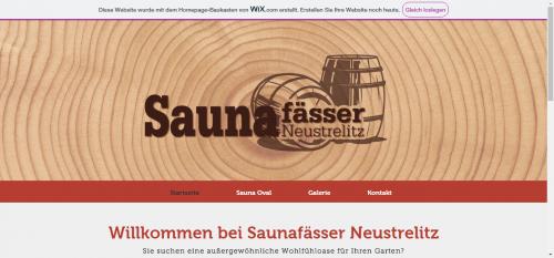 Firmenprofil von: Fasssauna Neustrelitz: Dekorative Saunafässer für den Außenbereich