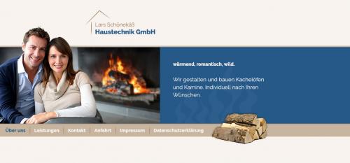 Firmenprofil von: Kachelöfen sparen Heizkosten - Lars Schönekäß Haustechnik GmbH