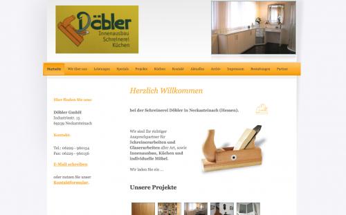 Firmenprofil von: Individueller Möbelbau bei Schönau im Odenwald: Döbler GmbH
