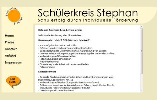 Firmenprofil von: Schülerkreis Stephan Schülernachhilfe in Krefeld