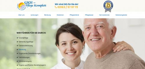 Firmenprofil von: Qualifizierte Wundversorgung von GKH Pflege Komplett aus Schwalmtal