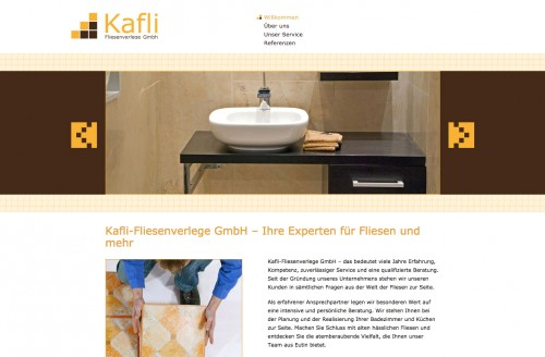 Firmenprofil von: Meisterbetrieb Kafli-Fliesenverlege GmbH