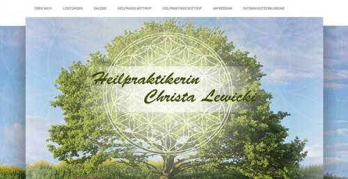 Firmenprofil von: Trend zur Natur: Naturheilpraxis Christa Lewicki in Bottrop