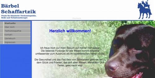 Firmenprofil von: Praxis für klassische Tierhomöopathie in Bad Grund