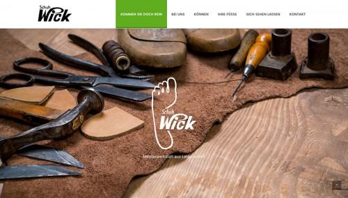 Firmenprofil von: Schuh Wick in Gaggenau