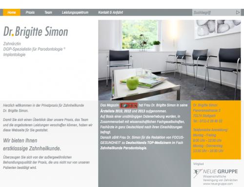 Firmenprofil von: Privatpraxis für Zahnheilkunde Dr. Brigitte Simon in Stuttgart