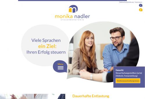 Firmenprofil von: Steuerberatung in Braunschweig: Steuerberaterin Monika Nadler