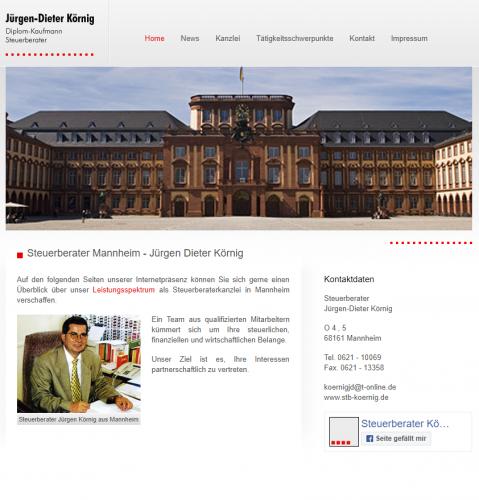 Firmenprofil von: Professionelle Lohnbuchhaltung: Steuerberater Körnig in Mannheim