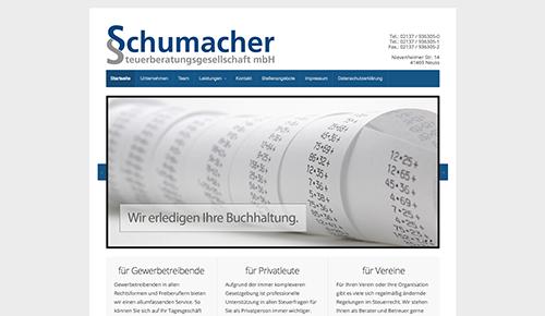 Firmenprofil von: Steuerbüro Schumacher im Raum Neuss Allerheiligen: die Chancen des Jahresabschlusses