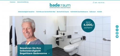 Firmenprofil von: Teilmodernisierung im Bad vom Profi: bade:raum autark UG