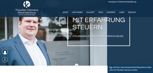 Firmenprofil von: Weitreichende Steuerberatung von Thorsten Clemens in Neuss