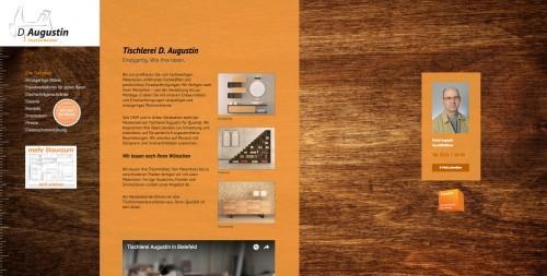 Firmenprofil von: Einbauschränke im Büro - Tischlermeister D. Augustin aus Bielefeld berät Sie gerne