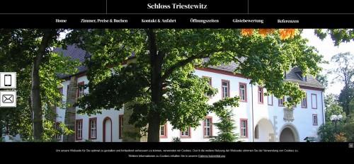 Firmenprofil von: Urlaub Im Schlosshotel Triestewitz in Torgau