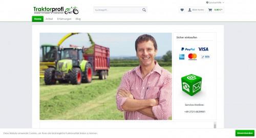 Firmenprofil von: Finden Sie das ideale Zubehör für Ihren Traktor - Traktorprofi