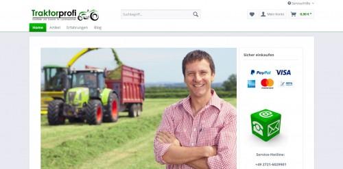 Firmenprofil von: Hier werden Traktor-Fans fündig: MF-Parts