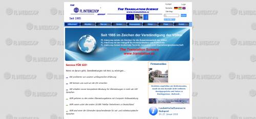 Firmenprofil von: Beglaubigte Übersetzungen vom Profi: FL Intercoop Translation Ltd. & Co. KG