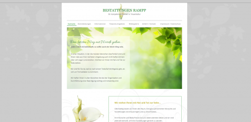 Firmenprofil von: Der Natur nahe sein: Bestattungen Rampp in Viernheim