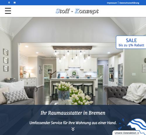 Firmenprofil von: Kompetenter Service mit dem Stoff-Konzept aus Bremen