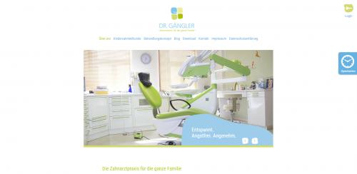 Firmenprofil von: Funktionstherapie bei Kopf- und Kieferschmerzen – Zahnärztin Dr. Gängler aus Dresden