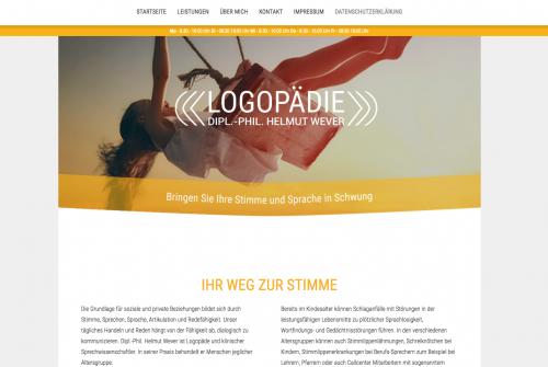 Firmenprofil von: Ihr Weg zur Stimme - Logopädie Helmut Wever in Erfurt