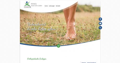 Firmenprofil von: Schuhtechniker Peter B. Maritzen in Essen: Mit orthopädischen Schuhen unbeschwert durchs Leben gehen