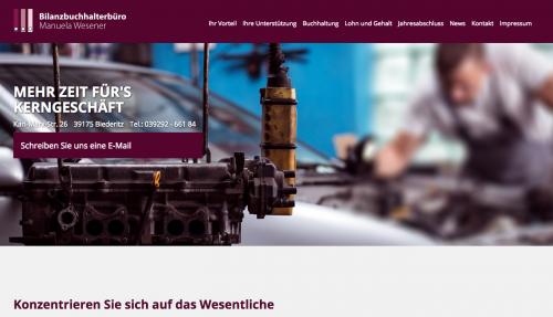 Firmenprofil von: Ohne das richtige Mahnwesen geht's nicht: Bilanzbuchhalterbüro Wesener in Biederitz