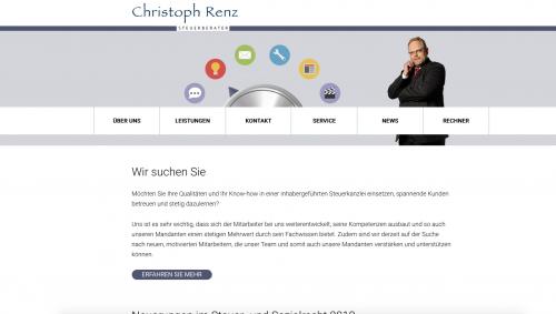 Firmenprofil von: Sorgenfreie Finanzen mit Steuerberater Renz in Dresden