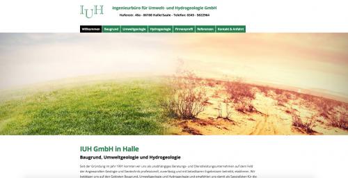Firmenprofil von: Experten der Hydrogeologie - Ingenieurbüro für Umwelt- und Hydrogeologie GmbH in Halle/Saale