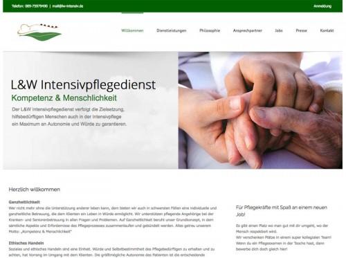 Firmenprofil von: L&W Intensivpflegedienst: ambulante Pflege bei München
