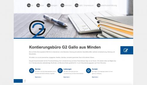 Firmenprofil von: Lohnabrechnungen in Minden: Kontierungsbüro G2 Gallo