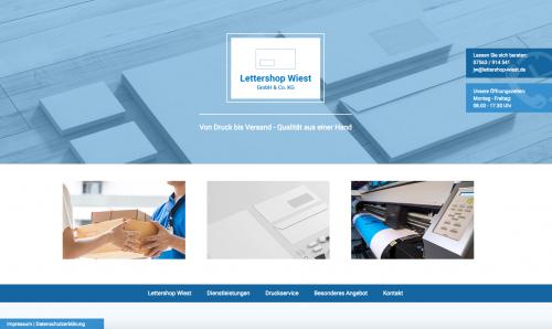 Firmenprofil von: Versand und Druck von Lettershop Wiest in Kißlegg