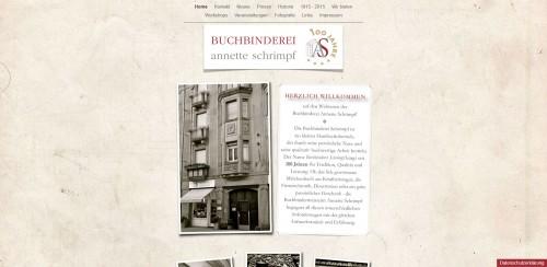 Firmenprofil von: Individuelle Bewerbungsmappen – Buchbinderei Annette Schrimpf in Mannheim