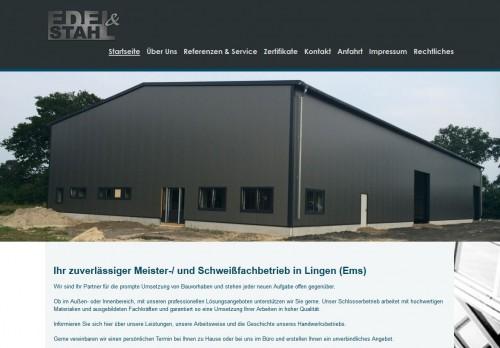 Firmenprofil von: Schweißfachbetrieb in Spelle: Edel & Stahl GbR