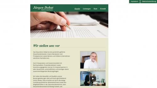 Firmenprofil von: Beratung bei Fragen zur Erbschaftssteuer: Steuerbüro Jürgen Dobat in Pinneberg