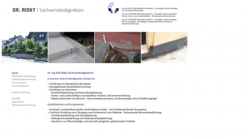 Firmenprofil von: Business- und Projektcoach Dr.-Ing. Rolf Ridky